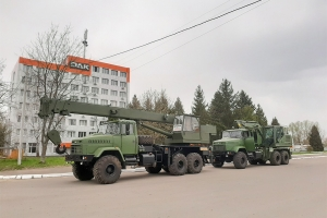 Crane Truck KTA-25 and Excavator EOV-4421 Based On Chassis KrAZ-63221 Successfully Underwent State Authority Trials