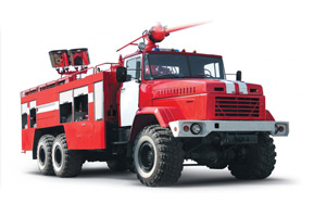 Combined fire fighting truck KrAZ-63221