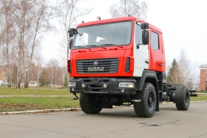 The KrAZ-5401НЕ Off Road Chassis Cab Customized to Meet SSES Requirements