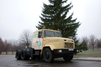 KrAZ to Deliver Ukraine's New Year Tree