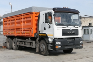 The KrAZ-6511C4 grain truck will increase the Kernel group agribusiness efficiency