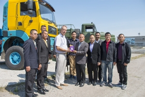 Asian military are interested in AutoKrAZ products