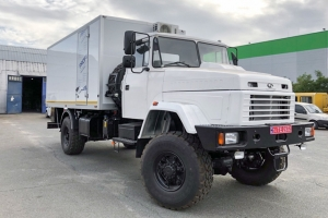 A laboratory for oil and gas wells testing was created on the basis of the KrAZ-5233HE truck chassis