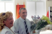 KrAZ Employees Give Welcome to Birthday Person