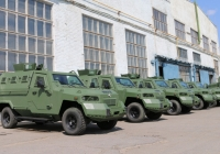 Batch of Light Armored Vehicles KrAZ-Cougar Shipped to Customer